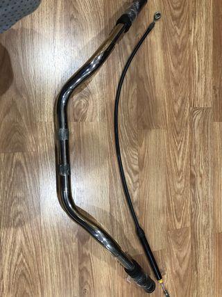 Manillar y cable