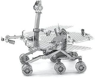 Miniatura Mars Rover de metal para montar