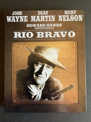 Rio Bravo steelbook bluray