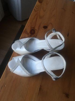 Zapatos novia talla 38