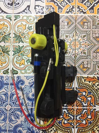 Bomba de agua eléctrica nueva camper