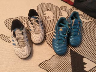 Lote botas fútbol Adidas N.30