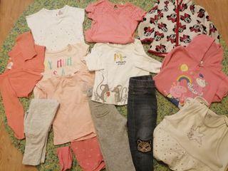 Lote ropa niña 18-24 y 24-36 meses