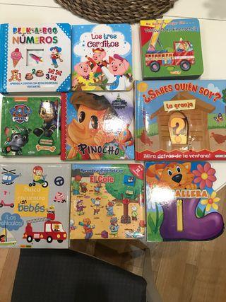 Libros infantiles a partir de los 2 años