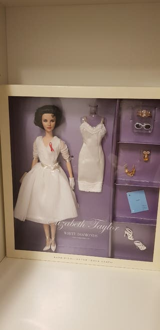 Barbie Collector Elizabeth Taylor White Diamonds