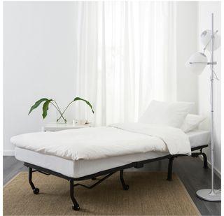 Sillón cama, blanco, Ikea LYCKSELE LÖVÅS