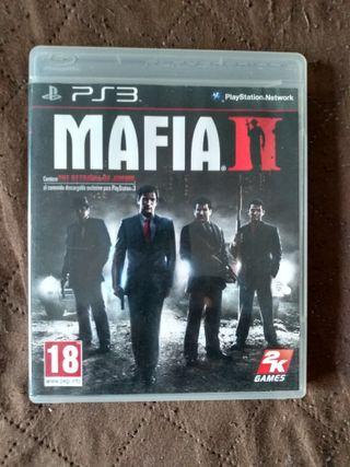 Mafia II PS3 ( leer bien descripcion)