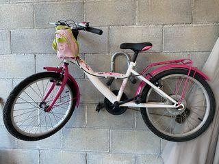 Bicicleta niña 20 pulg
