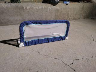Barrera extensible cama bebe