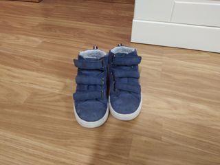 botas azules numero 31