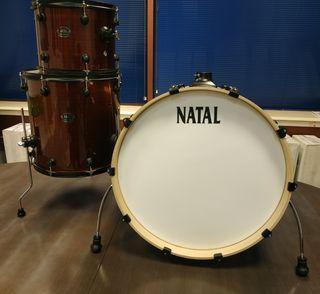 batería acústica Natal Arcadia NUEVA !