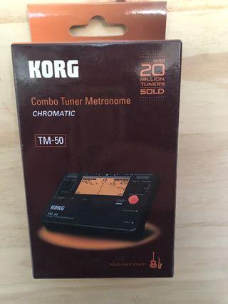 Metronomo afinador Korg TM-50