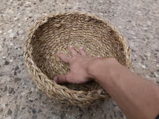 cesta grade de mimbre
