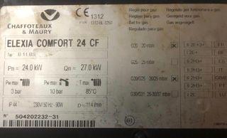 Caldera Chaffoteaux & Maury ELEXIA COMFORT 24 CF
