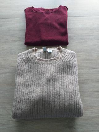 2 jerseys mujer talla M en perfecto estado