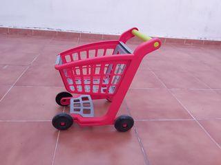 carriti juguete para hacer la compra