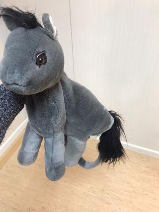 Bolso peluche caballo