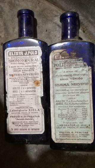 botellas antiguas bromoiodural