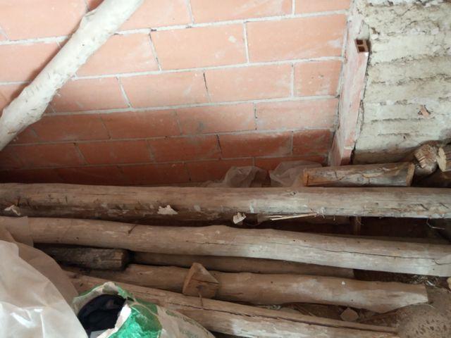 vigas de madera antiguas