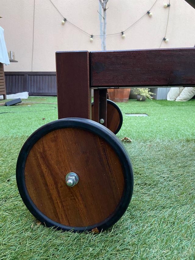 Tumbona Ikea madera.