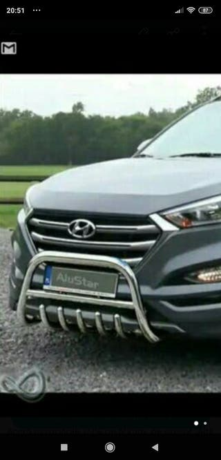 Defensa Frontal Hyundai Tucson