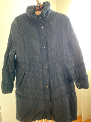 Abrigo talla 48 color azul, marca AZAY EDITION