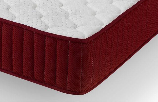 Colchón viscoélastico, 90x190x21 cm, color blanco