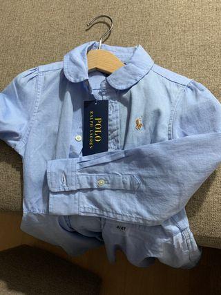 Vestido camisero niña Polo Ralph Lauren