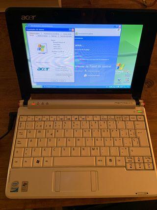 Ordenador portátil mini Acer Aspire One