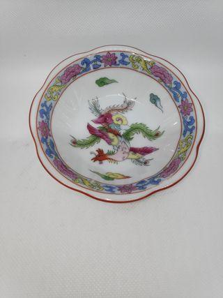 Bol cerámica japonesa vintage.
