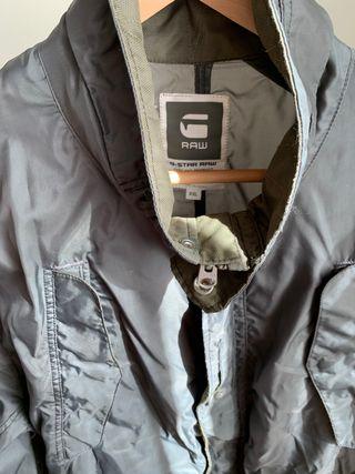 Parka GSTAR-RAW gris talla XXL