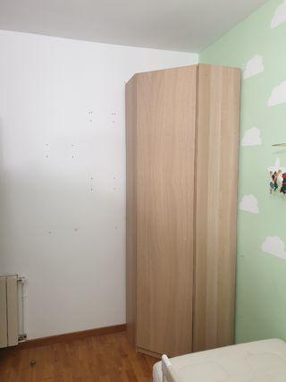 Armario esquinero Ikea PAX