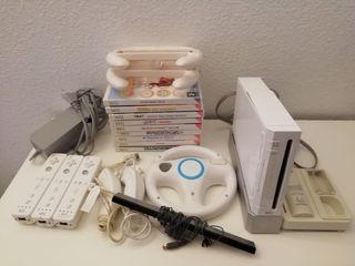 Pack Wii juegos y accesorios