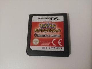 Juego Pokémon Nintendo DS