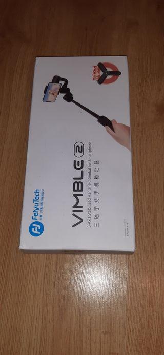 gimbal Feiyu Tech Vimble 2 sin apenas uso