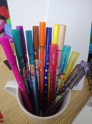 bolígrafos top model
