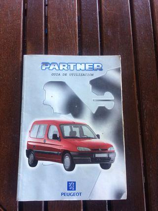 Manual Peugeot Partner 98