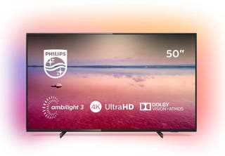 "TV PHILLIPS 50"" AMBILIGTH HDR 4K"