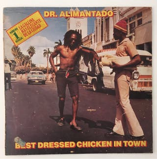 Dr. Alimantado Disco Vinilo LP