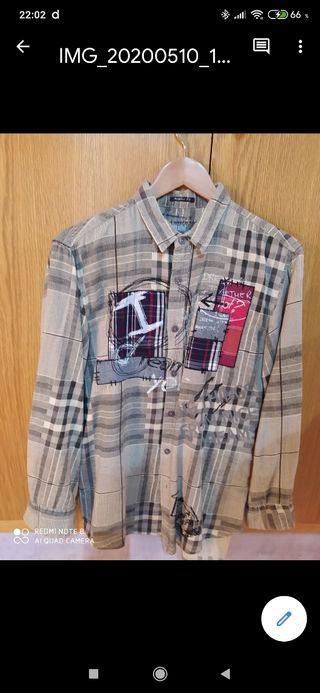 Camisa hombre Desigual