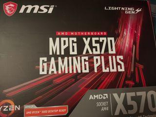 Placa base Msi Mpg x570 gaming plus
