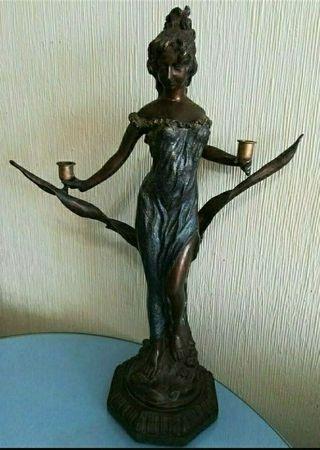 Escultura Bronce antigua