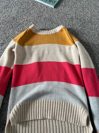 Colourful knit jumper
