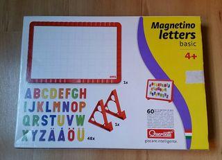 Pizarra magnética letras y números