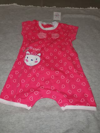 pijama verano bebé niña