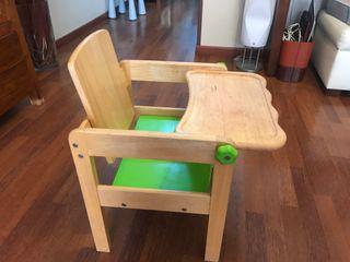 Pupitre - silla de Madera de la marca I´m TOY