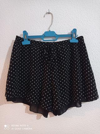 Short lunares topos pantalones cortos