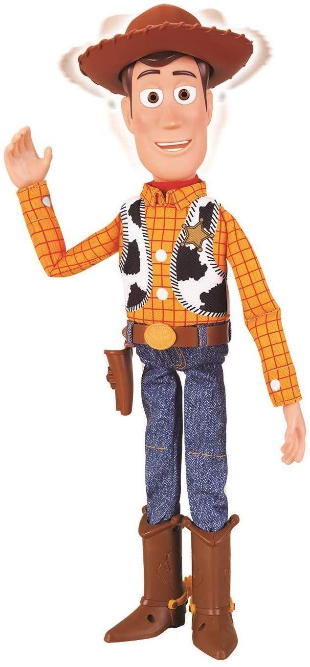Muñeco Woody interactivo 42cm Toy Story 4 NUEVO