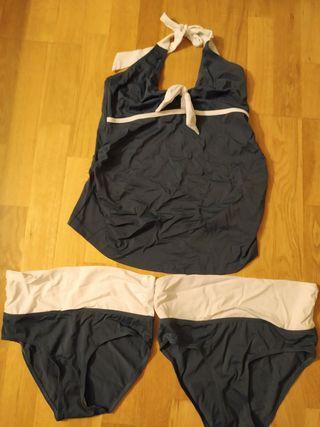 Tankini embarazada + Extensor cintura pant