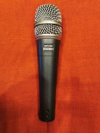 Micrófono SHURE SM57 BETA
